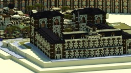 The city of Abyron Oasis Minecraft Project