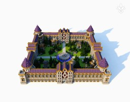 Purple Stone Minecraft Map & Project