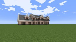 Suburban Style Large Family Home/Small Mansion - WIP Minecraft Project