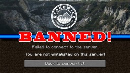 BANNED from a Minecraft Server for Mining Minecraft Blog Post