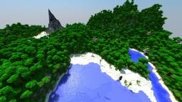 Vulcanic Jungle Survival - 2000x2000 Survival Map Minecraft Project