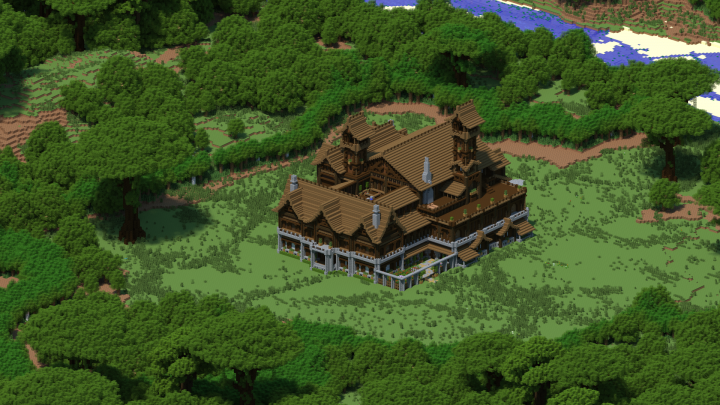 minecraft how to get to the woodland mansion