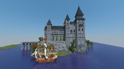 Unnamed Island Castle Minecraft