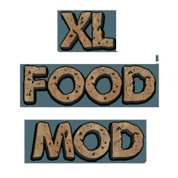 XL Food Mod Minecraft Mod