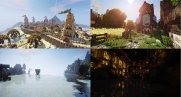 Valheim Minecraft Map & Project