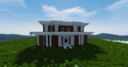 Modern Villa House Minecraft Project