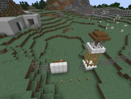 Half-life 2: Episode: 2 White forest Base Minecraft Project