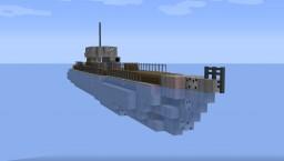 German U-Boat Type VII Submarine - NavalClash Minecraft Map & Project