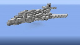 Soviet Tu-160 Supersonic Bomber - NavalClash Minecraft Map & Project