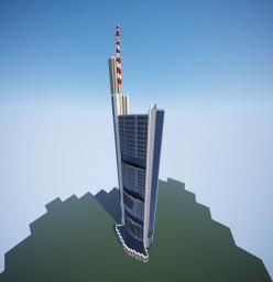 Commerzbank Tower - Frankfurt Minecraft