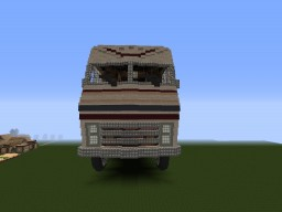 Huge 1980 Winnebago Chieftain MotorHome Minecraft Map & Project