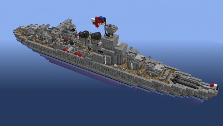 HMS Hood, built on play.navalclash.net