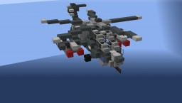 Russian Mil Mi-28 Attack Helicopter - NavalClash Minecraft Project
