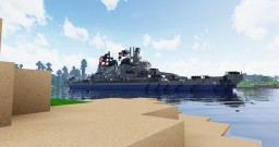 USS Montana  - Montana Class Battleship - NavalClash Minecraft Map & Project