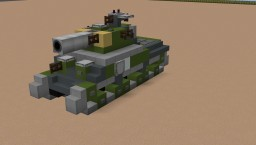 M4 Sherman American WW2 Tank - NavalClash Minecraft Map & Project