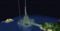 Ocean Monument Tower of Light. Minecraft Project