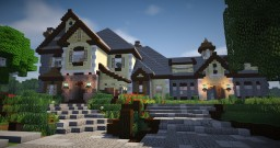Large Mansion 6 Minecraft Map & Project
