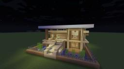 Modern Mini Mansion Minecraft Project