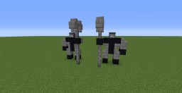 Observer Block Statue Minecraft Project