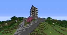 Japanese Style Temple Minecraft Map & Project