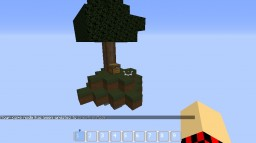 Sky Island with Villagers Minecraft Project