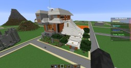 acacia and terracotta house Minecraft Map & Project