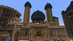 Castle complex in progress Minecraft