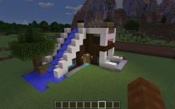 Minecraft lego corner house Minecraft