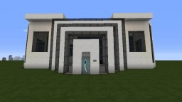 Superstarsahil Modern House Minecraft Project