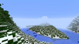 Custom snowy world Minecraft Project