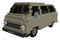 SKODA 1203 1.2 34kW (1972) Minecraft Project