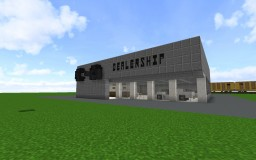 C&A Dealership Minecraft Map & Project