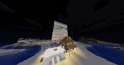 Beach and town building project Minecraft Project