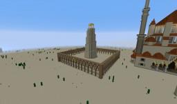 "AoE II Saracens' Wonder ""Minaret of Samarra"" Minecraft Project"