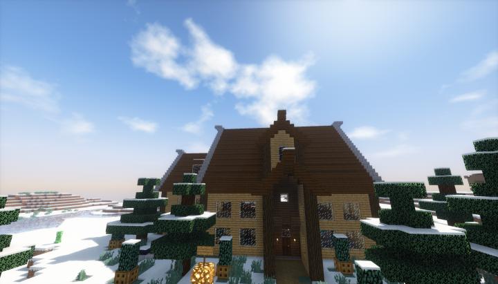 Winter Homeboi House