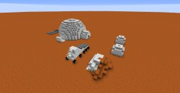 """""""The Martian"""" Inspired Map Minecraft Project"""