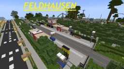 "Train Station ""Feldhausen"" Minecraft Project"