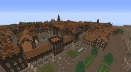 Medieval city with a castle! Minecraft Project