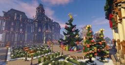 Christmas Mansion Minecraft