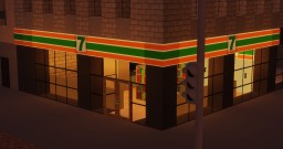 Realistic 7-Eleven Convienience Store - MuC Minecraft Map & Project