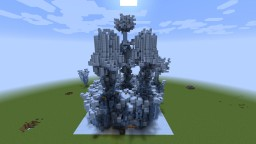PvP cool world - Ice arena Minecraft Project