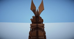 Wooden Orthanc Minecraft Map & Project