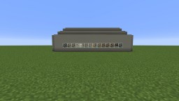 Military/ Civilian Blast Bunker Fully Loaded And Compact! Concrete! Minecraft Map & Project
