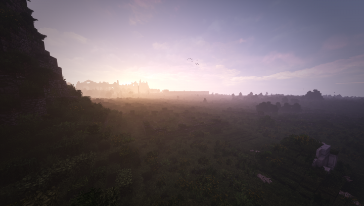 More views of scattered ruins as we scan the horizon, seeing the majesty of the palace in the distance.