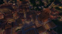 Large City of Rome Minecraft Project