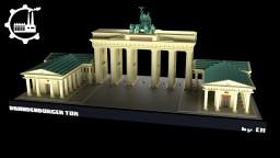 Brandenburg Gate Minecraft