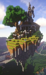 Quaint Farmhouse in the Sky Minecraft Map & Project