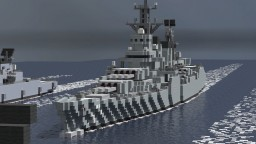 [MR] Hasegawa-class battleship Minecraft Project