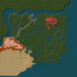 Zelda: Breath of The Wild map (close to 1:1 scale) Minecraft
