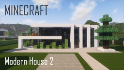 Modern House 2 (full interior) Minecraft Project